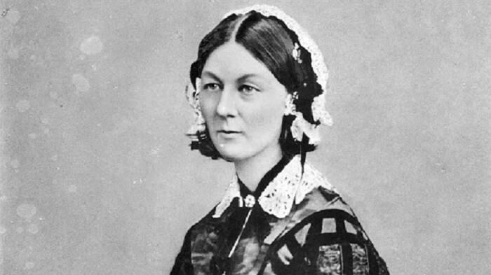 Chân dung bà Florence Nightingale