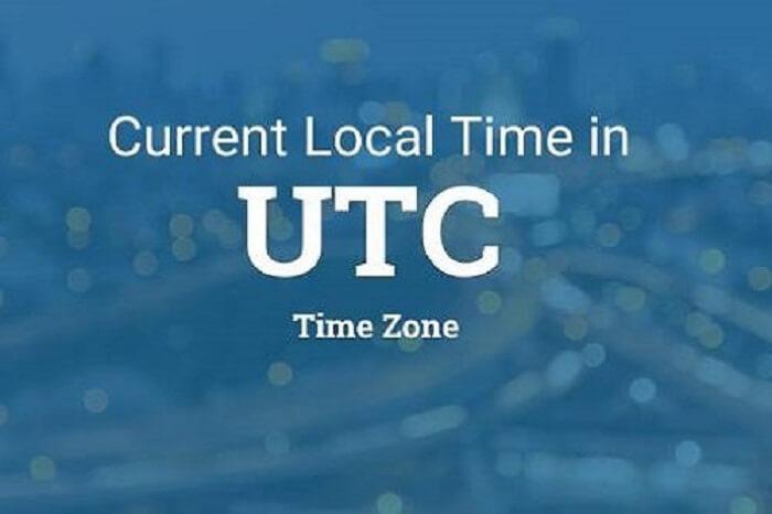 Giờ UTC là giờ phối hợp Quốc tế
